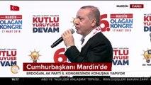 Cumhurbaşkanı Mardin'de