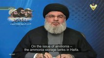 Hassan Nasrallah vows to turn Israels nuclear bomb threat on Israel