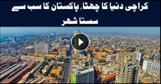 Karachi ranked 6th cheapest city in the world by Economist Intelligence Unit