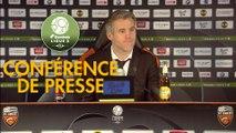 Conférence de presse FC Lorient - US Orléans (3-1) : Mickaël LANDREAU (FCL) - Didier OLLE-NICOLLE (USO) - 2017/2018