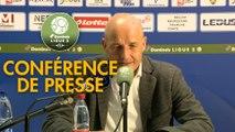 Conférence de presse FC Sochaux-Montbéliard - Tours FC (0-0) : Peter ZEIDLER (FCSM) - Jorge COSTA (TOURS) - 2017/2018