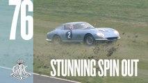 Stunning Ferrari 275 GTB/C spins out at Goodwood