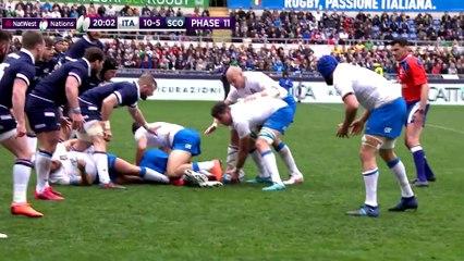 Short Highlights Italy v  Scotland  NatWest 6 Nations