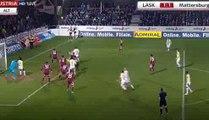 Samuel Tetteh Goal - LASK Linz 1 - 1 Mattersburg 17-03-2018