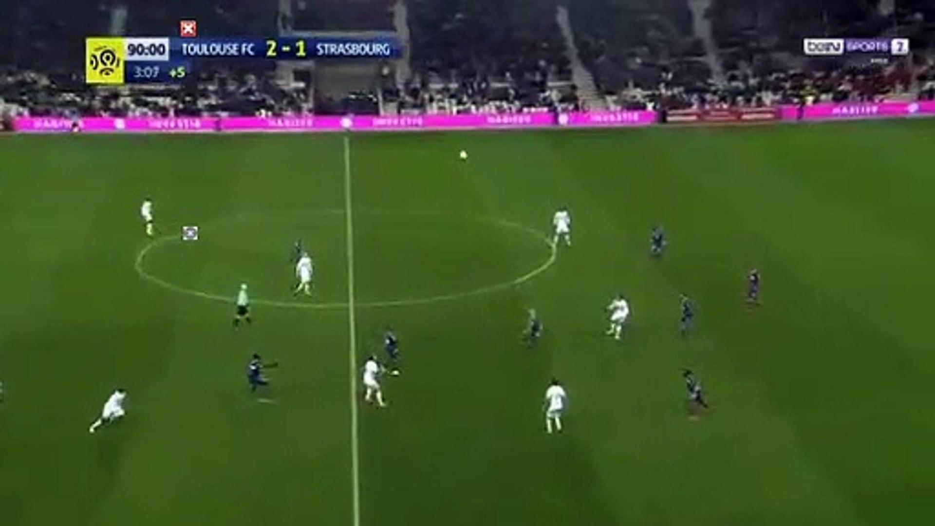 Yaya Sanogo Goal HD - Toulouse 2-1 Strasbourg 17.03.2018
