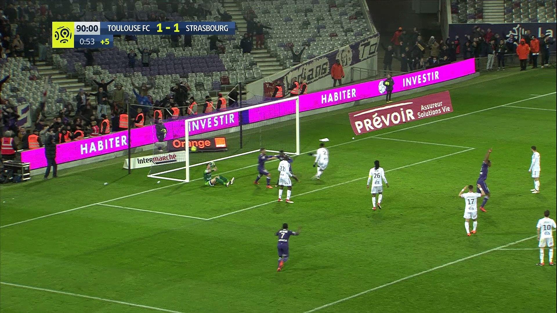 Le TFC prend l'avantage contre Strasbourg grâce à Sanogo