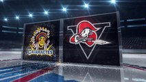 QMJHL Shawinigan Cataractes 3 at Drummondville Voltigeurs 5