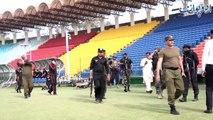 پی ایس ایل 3 کا میلہ دبئی سے پاکستان آنے کو تیار۔۔۔ قذافی اسٹیڈیم لاہور میں پلے آف میچز کے انعقاد کی تیاریاں عروج پر۔۔۔ دیکھئے اسٹیڈیم میں ہونے والی تیاریوں پر