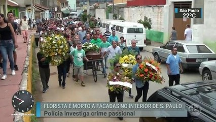 Morte de florista causa comoção em Aparecida, no interior de SP