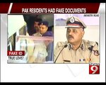 Pak Residents | who Had Fake Documents Arrested in Bengaluru - NEWS9