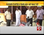 Flyover Started 8 Years Ago, Not Built Yet in Hennur - NEWS9
