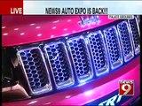 Kichcha Sudeep inaugurates NEWS9 Auto Expo  NEWS9
