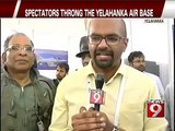 Yelahanka, stunts leave audience in awe! - NEWS9