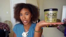 Fine Hair Friendly?! EcoStyler Black Castor and Flaxseed Oil Gel - Type 3 Hair