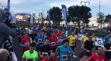 Vidéo - Run in Marseille  :  les coureurs ont pris le départ du semi-marathon