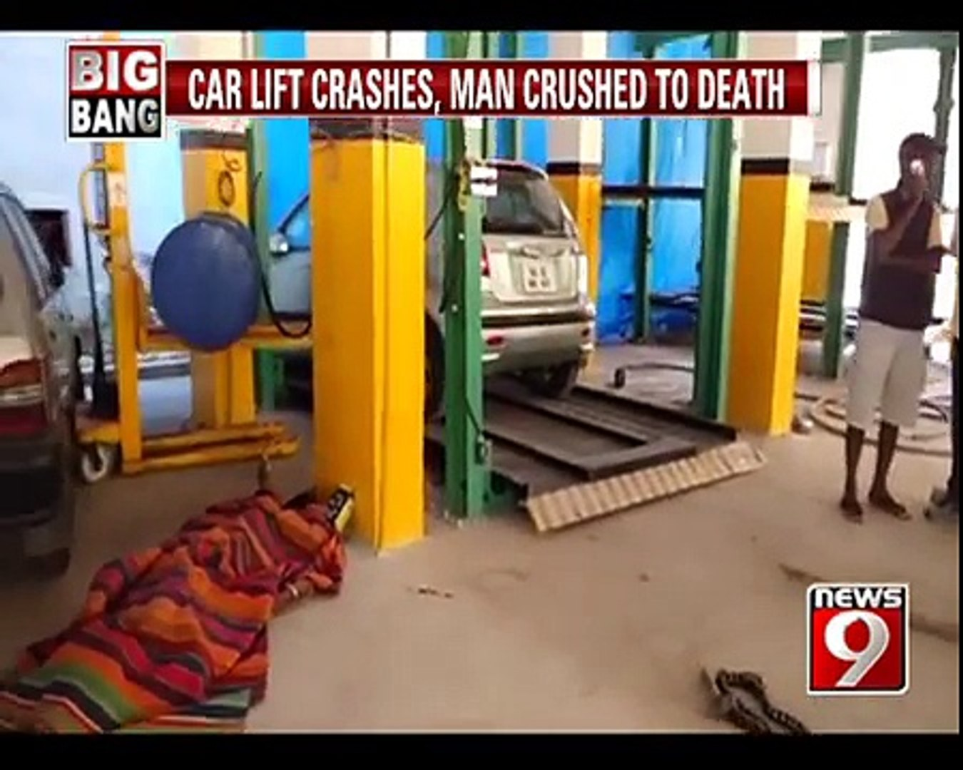 Man Crushed To Death