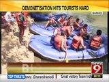 Madikeri, demonetisation hits tourists hard - NEWS9