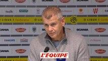 Garande «On est dans le dur» - Foot - L1 - Caen