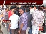 Rajarajeshwari Nagar, residents fear demolition drive - NEWS9