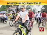 Shivamogga, cops play Kabbadi & Tug-Of-War - NEWS9