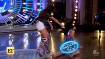 Katy Perry Accidentally Flashes Fellow 'American Idol' Judges During Audition