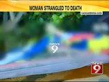 Bengaluru, woman strangled to death in Gangamma Gudi- NEWS9