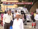 Victoria hospital, BMRCL causes inconveince to patients- NEWS9
