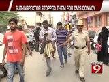 Bengaluru, 3 boys beat up traffic sub- inspector 1-  NEWS9