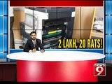 Bengaluru, BBMP spent 2 lakhs to catch 20 rats- NEWS9