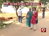 REckless axing of trees stopped in Bengaluru: NEWS9