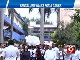 Brigade Road, Bengaluru walk for a cause- NEWS9