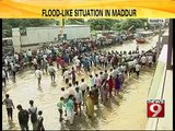 Pipeline ruptures in Maddur Taluk- NEWS9