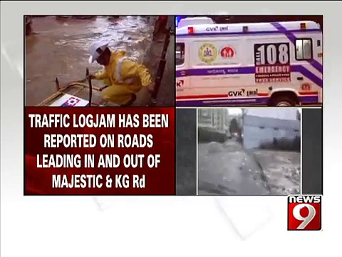 Heavy downpur, traffic police on high alert- NEWS9