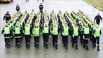 Les pompiers d'Auvergne-Rhône-Alpes se préparent pour défiler le 14 juillet à Paris