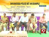 NEWS9: Shivamogga police adopt a village