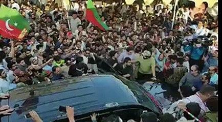 Pictures Of Massive Crowd at Malir No 15 camp and Gulshan-e-Hadeed Malir Camp