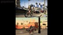 GTA 5 : Screenshots Compared with GTA San Andreas (GTA 5 vs GTA San Andreas)