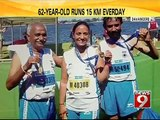 Davangere, a senior athlete, inspiration to the young  - NEWS9