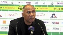 """Kombouaré : """"On est tombés contre une belle équipe de Saint-Etienne"""""""