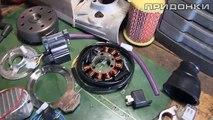 Реставрация JAWA 250/559 (часть 5) - Обкатка мотора