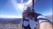 Demande en mariage en parachute en Tandem !
