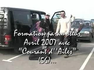 Formation Paramoteur avril 2007 Sarzeau (56)