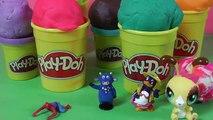 HUEVOS SORPRESA plastilina Peppa Pig Spiderman Princesas Disney Hello Kitty Doctora Juguetes PLAYDOH