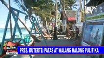 Palasyo, tiniyak na patas at walang halong pulitika ang magiging desisyon ni Pangulong Duterte patungkol sa Boracay