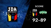 J23 - JDA Dijon / ASVEL Basket