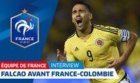 "Equipe de France : Radamel Falcao : ""Un plaisir de jouer contre les Bleus"" I FFF 2018"