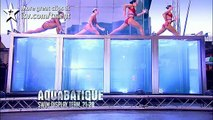 Synchronised swimmers Aquabatique - Britains Got Talent new audition - UK version