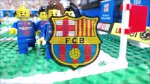 Barcelona vs Chelsea 3-0 • Champions League 2018 (14-03-2018) Barça Goals Highlights Lego Football