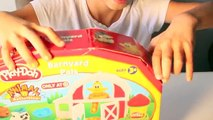 Play-Doh Barnyard Pals Play Set Review N Play| Shape Play-Doh Farm Animals| B2cutecupcakes