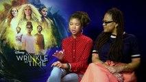 Storm Reid & Ava DuVernay talk A Wrinkle In Time